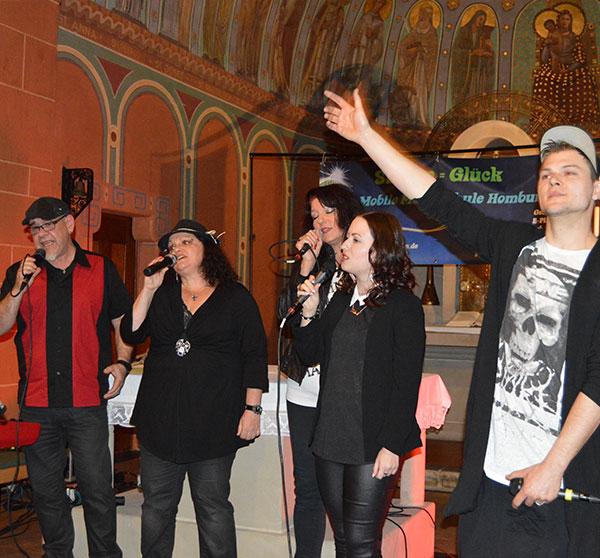 Auftritt Mobile Musikschule Saarpfalz in Homburg